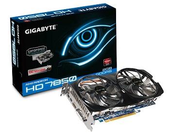 Karta graficzna Gigabyte AMD ATI Radeon HD 7850 2GB GDDR5